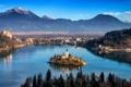 Картинка city, water, słowenia górym