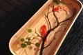 Картинка рыбки, емкость, золотые, растения, арт, вода, ветка