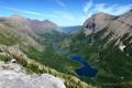 Картинка горы, скалы, озера, долина, панорама, ущелье, USA