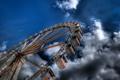 Картинка колесо, небо, карусель
