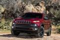 Картинка внедорожник, автомобиль, передок, Jeep, Trailhawk, мощный