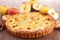 Картинка яблоки, выпечка, начинка, яблочный пирог