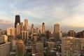 Картинка здания, небоскребы, City, чикаго, Chicago, сша, высотки