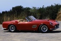 Картинка красный, фон, Феррари, 1960, Калифорния, Ferrari, классика