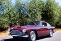 Картинка дорога, деревья, Aston Martin, автомобиль, классика, раритет, 1958
