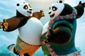 Картинка мультфильм, Kung Fu Panda 3, панды, счастье, радость, встреча, Кунг-фу Панда 3
