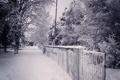 Картинка зима, снег, город, улица, вечер, карачаевск