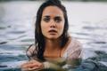 Картинка взгляд, губки, в воде, Deep shiver