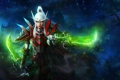 Картинка магия, арт, World of Warcraft, эльфийка, wow, кинжалы, Blood Elf Rogue