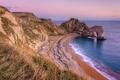 Картинка море, пляж, скала, побережье, арка, england, durdle door