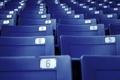 Картинка синий, креатив, стулья, кресла, скамейки, сидения, стадион