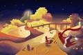 Картинка пустыня, игра, вечер, journey
