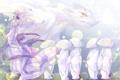 Картинка аниме, демон, арт, рога, парень, madara, natsume yuujinchou