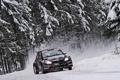 Картинка Зима, Снег, Лес, Гонка, Фары, WRC, S2000