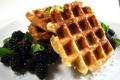 Картинка ягоды, berries, льежские, Вафли, Liège waffles