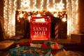 Картинка свет, огни, рождество, Новый год, ящик, почта санта клауса
