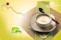 Картинка кофе, ложка, чашка