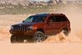 Картинка дорога, песок, небо, пустыня, jeep, отличные обои