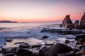 Картинка камни, скалы, небо, море
