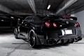 Картинка чёрный, Nissan, GT-R, black, ниссан