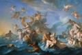 Картинка море, небо, ангел, картина, европа, история, миф