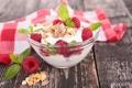 Картинка ягоды, малина, завтрак, злаки, fresh, berries, breakfast