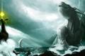 Картинка summon, sea, monster, storm