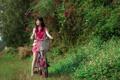 Картинка велосипед, Model, Kieu Trinh