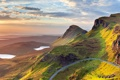 Картинка дорога, небо, облака, горы, озеро, панорама, Великобритания