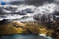Картинка море, вода, горы, океан, гора, Snowdon, wales