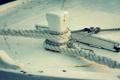 Картинка макро, пристань, столб, веревка, порт, пирс, узел