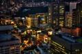 Картинка ночь, lights, огни, Япония, Токио, Tokyo, Japan