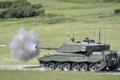 Картинка оружие, выстрел, Tank, Challenger 2