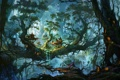 Картинка лес, деревья, королевство, elf kingdom