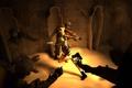 Картинка девушка, lara croft, tomb raider, мумия, гробница, fan art