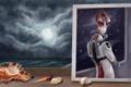 Картинка фантастика, миры, Mordin Solus, Мордин Солус, ученый-саларианец, Вселенная Mass Effect