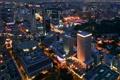 Картинка город, здания, дома, Ночь, архитектура