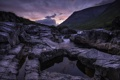 Картинка закат, камни, природа, гора