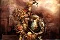 Картинка эльфы, воины, 4story, three kingdoms and one hero