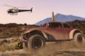 Картинка машина, вертолет, Grand Theft Auto V, gta 5, тревор
