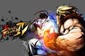 Картинка бой, драка, Ruy vs Ken, street fighter 4