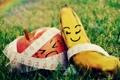 Картинка apple, fruits, mood, banana