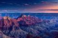 Картинка США, каньон, скалы, панорама, природа