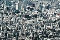 Картинка город, здания, Япония, мегаполис