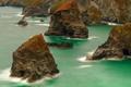 Картинка море, пейзаж, скалы, берег
