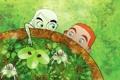 Картинка лес, фентези, жуки, листва, мультфильм, Aisling, The Secret of Kells