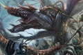 Картинка оружие, дракон, монстр, войны, битва, доспех