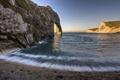 Картинка скалы, небо, вода, море, скала, пляж, арка