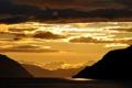 Картинка пейзаж, горы, ночь, озеро