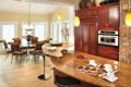 Картинка дизайн, кухня, вилла, дом, столовая, интерьер, комната